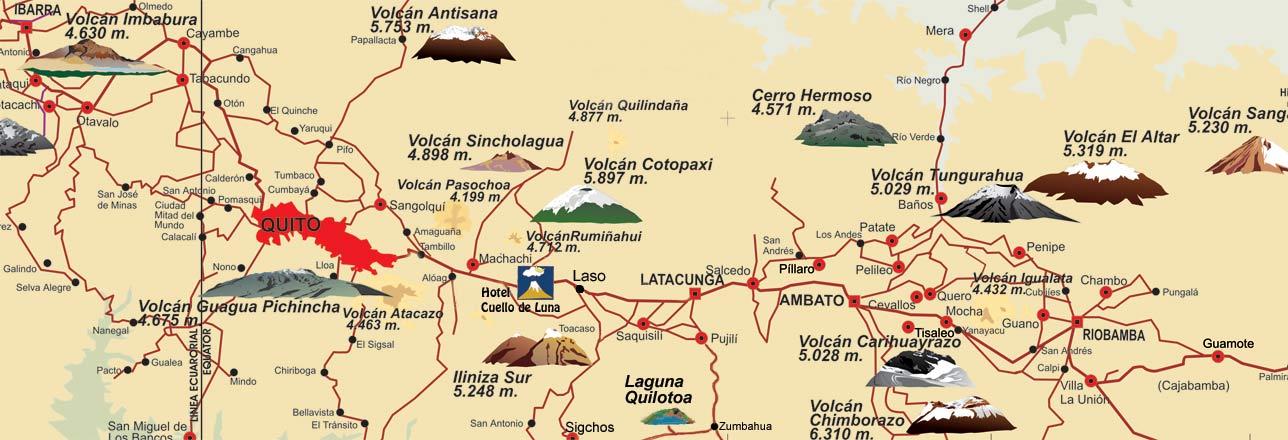 Ecuador Hotels Ecuador Hotel Cuello de Luna Hotel Cotopaxi Hotels