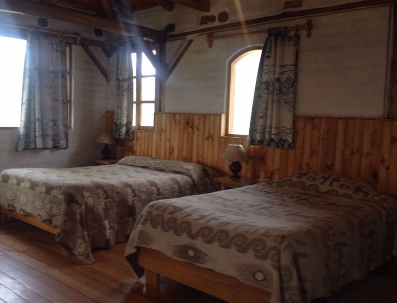 Family room #4, 1 double bed and 3 twin beds, Cuello de Luna Hotel Cotopaxi