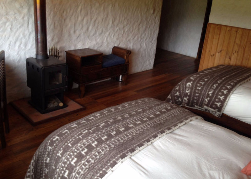 Superior Room # 22, down duvet and oven - Hotel Cuello de Luna Cotopaxi