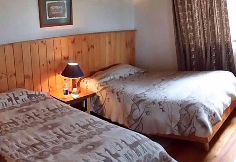 Hotel Cuello de Luna Cotopaxi - double twin room